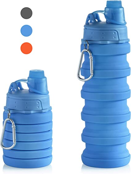 Collapsible Water Bottle Colors May Vary