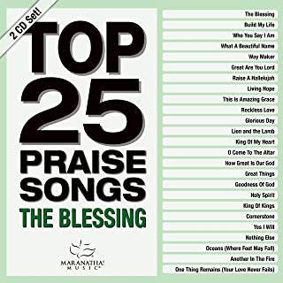 Book Cover: Top 25 Praise Songs - The Blessing