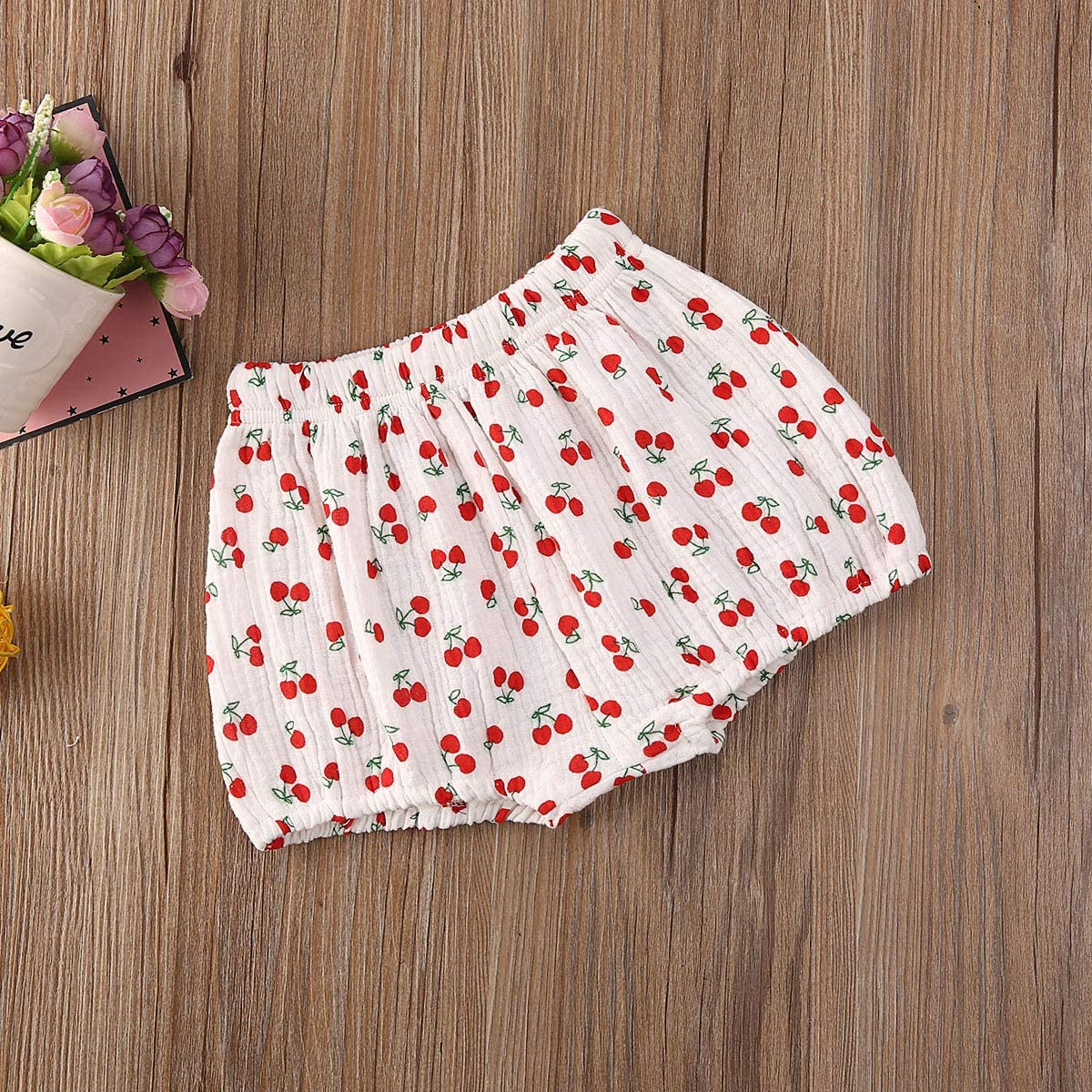 Mubineo Toddler Baby Girl Boy Basic Plain Crushed Velvet Bloomers Shorts Loose Harem Shorts
