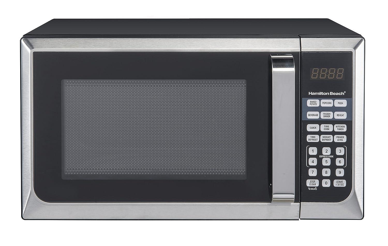 Hamilton Beach 0.9 Cu. ft. Stainless Steel Microwave Oven Hamilton-Beach P90D23AL-WR