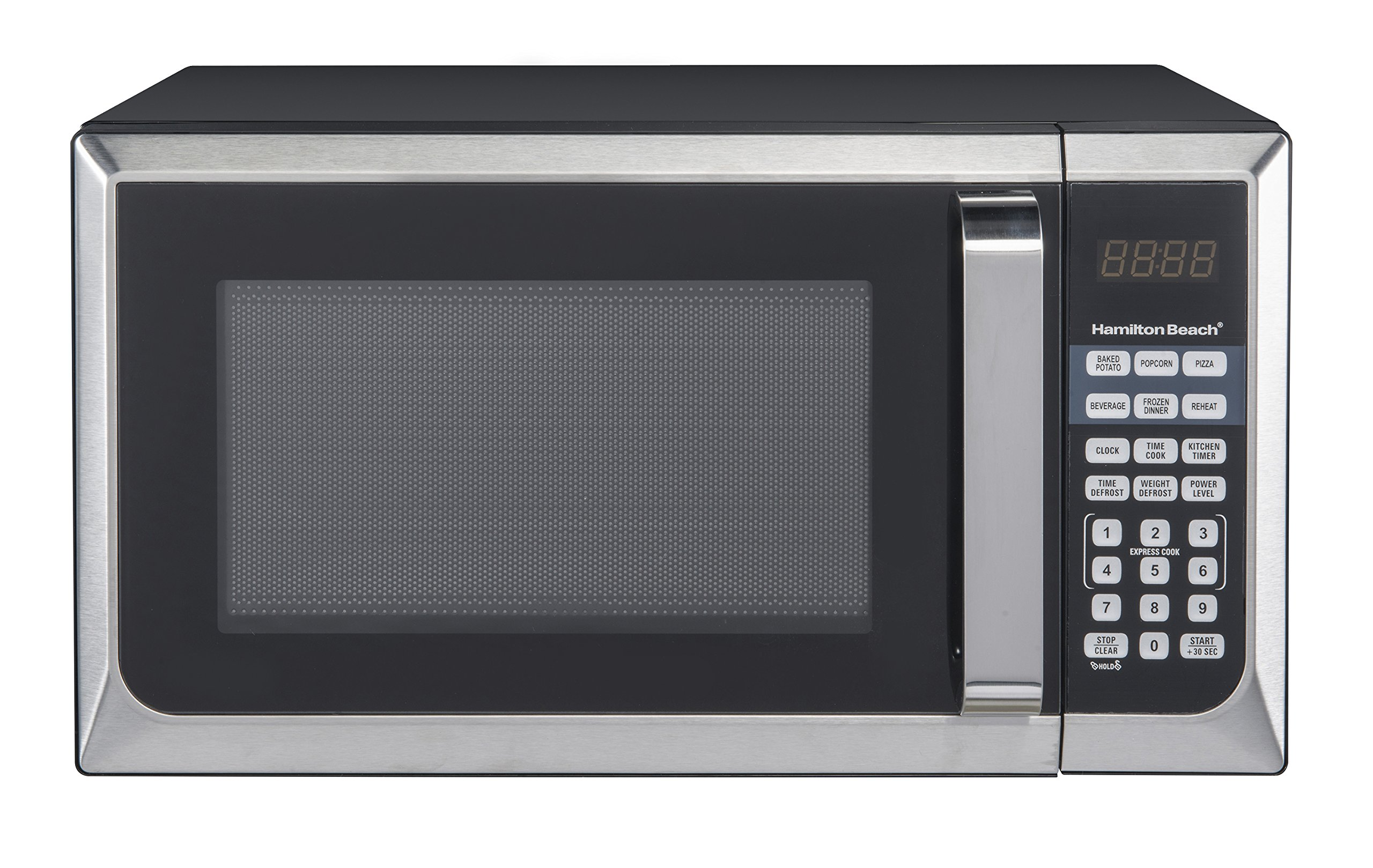 Hamilton Beach 0.9 Cu. ft. Stainless Steel Microwave Oven