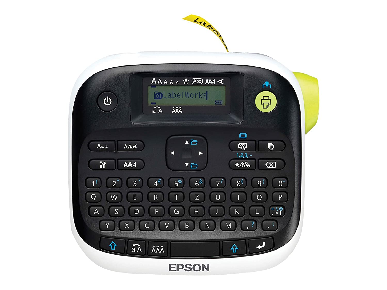 Epson LabelWorks LW-300L Etikettendrucker C51CB69210 (Thermotransfer, 6 mm/ Sekunde, Rolle 1,2 cm, 180 dpi)