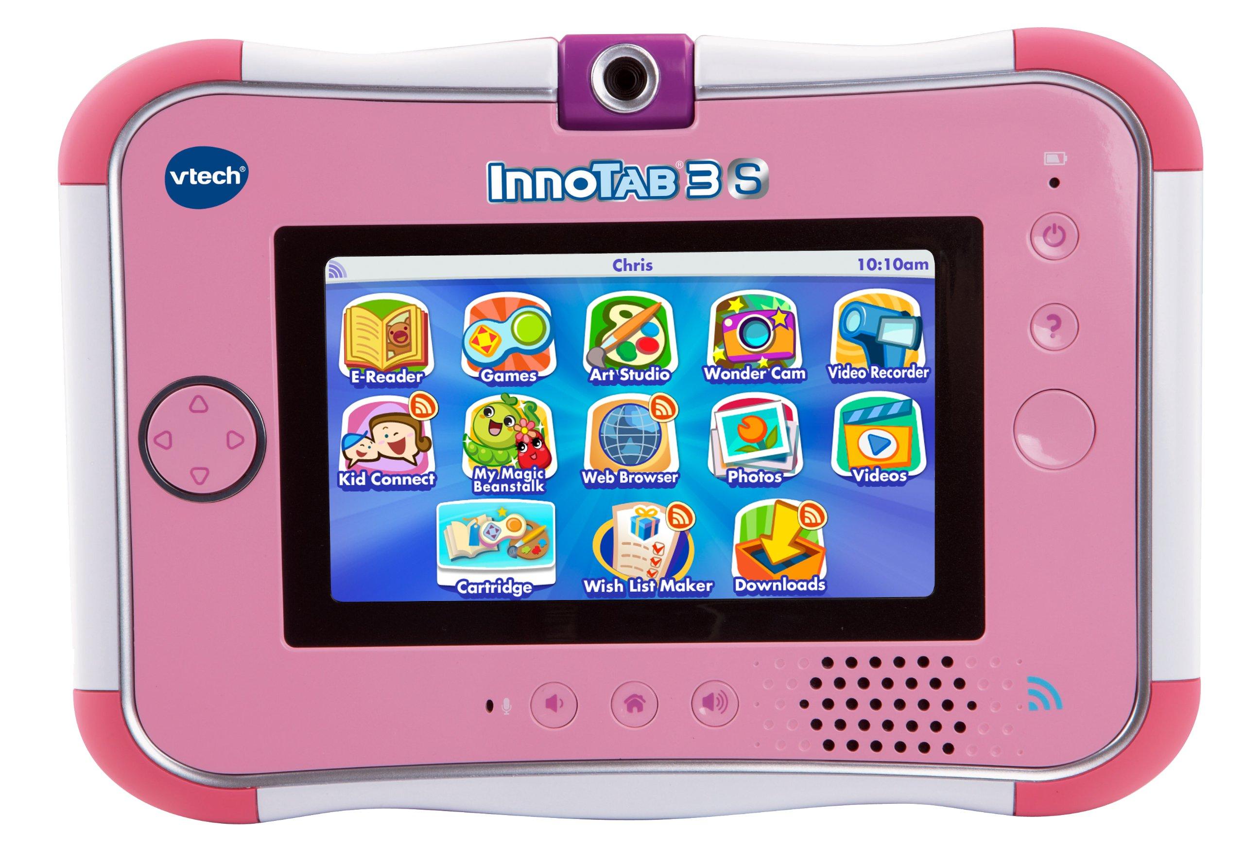 VTech InnoTab 3S Kids Tablet, Pink by VTech (Image #1)