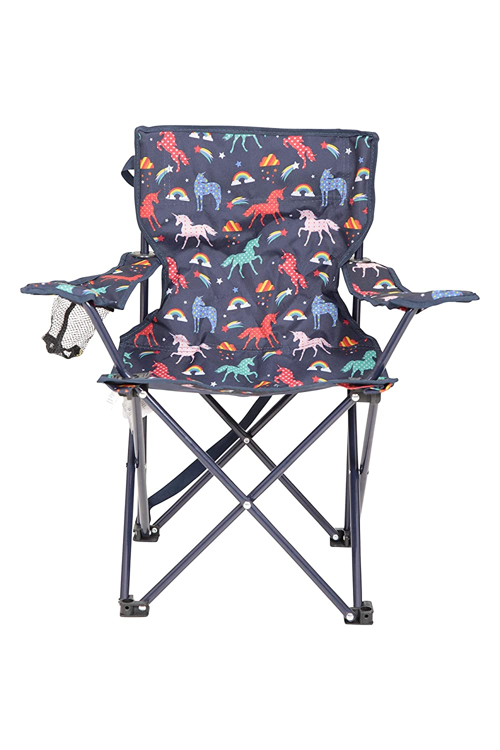 Mountain Warehouse Patterned Mini Folding Chair – Kids Camping Chair