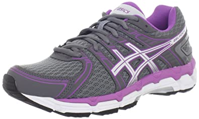 ASICS Women's GEL-Forte Running Shoe,Storm/Lightning/Purple,13 D US