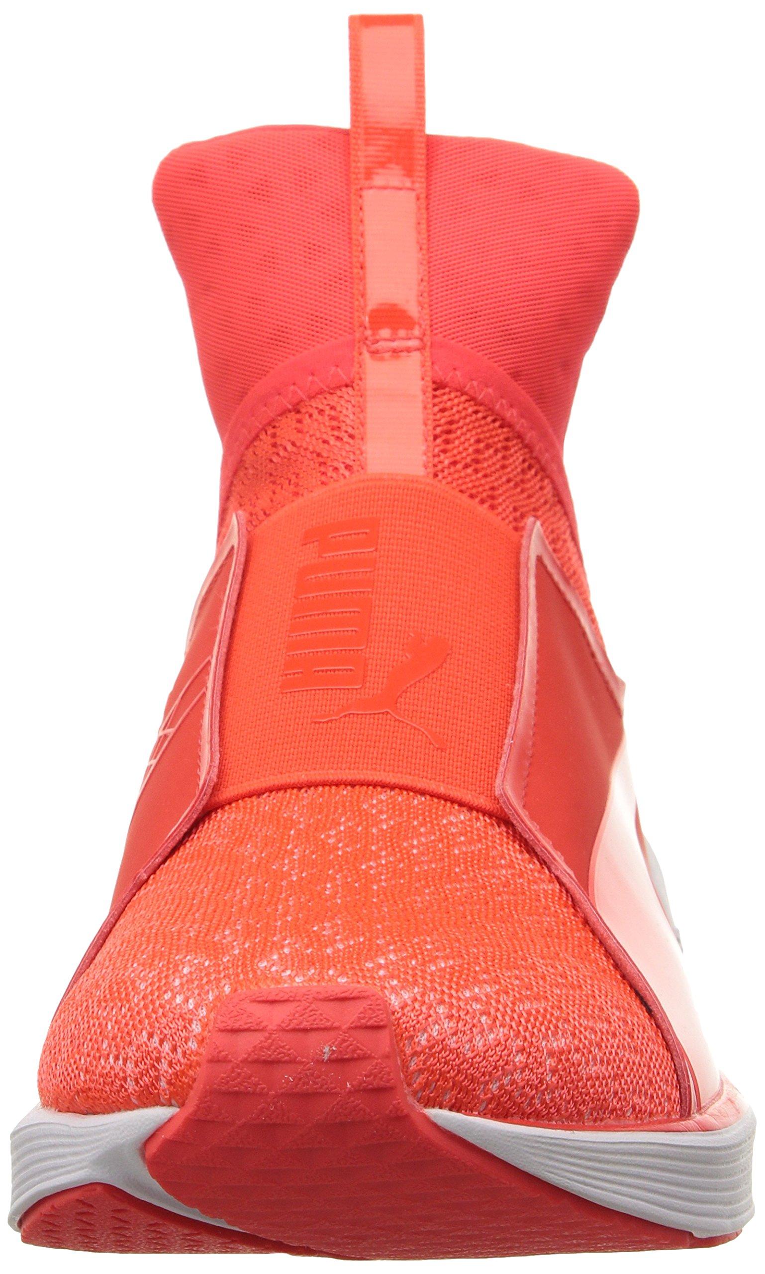 PUMA Women's Fierce Eng Mesh Cross-Trainer Shoe, Red Blast White, 5.5 M US by PUMA (Image #4)