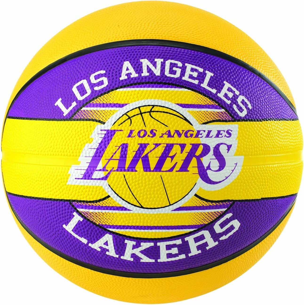 Spalding NBA Team L.a. Lakers Ball Balón de Baloncesto, Unisex ...