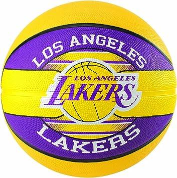 Spalding NBA Team L.a. Lakers Ball Balón de Baloncesto, Unisex ...