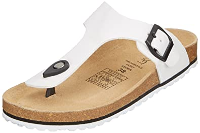 Supersoft Damen 274 513 Pantoffeln, Weiß (White), 38 EU