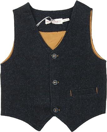 Sizes 18M-12 Deux par Deux Boys Burgundy Shirt with Tie Maestro!