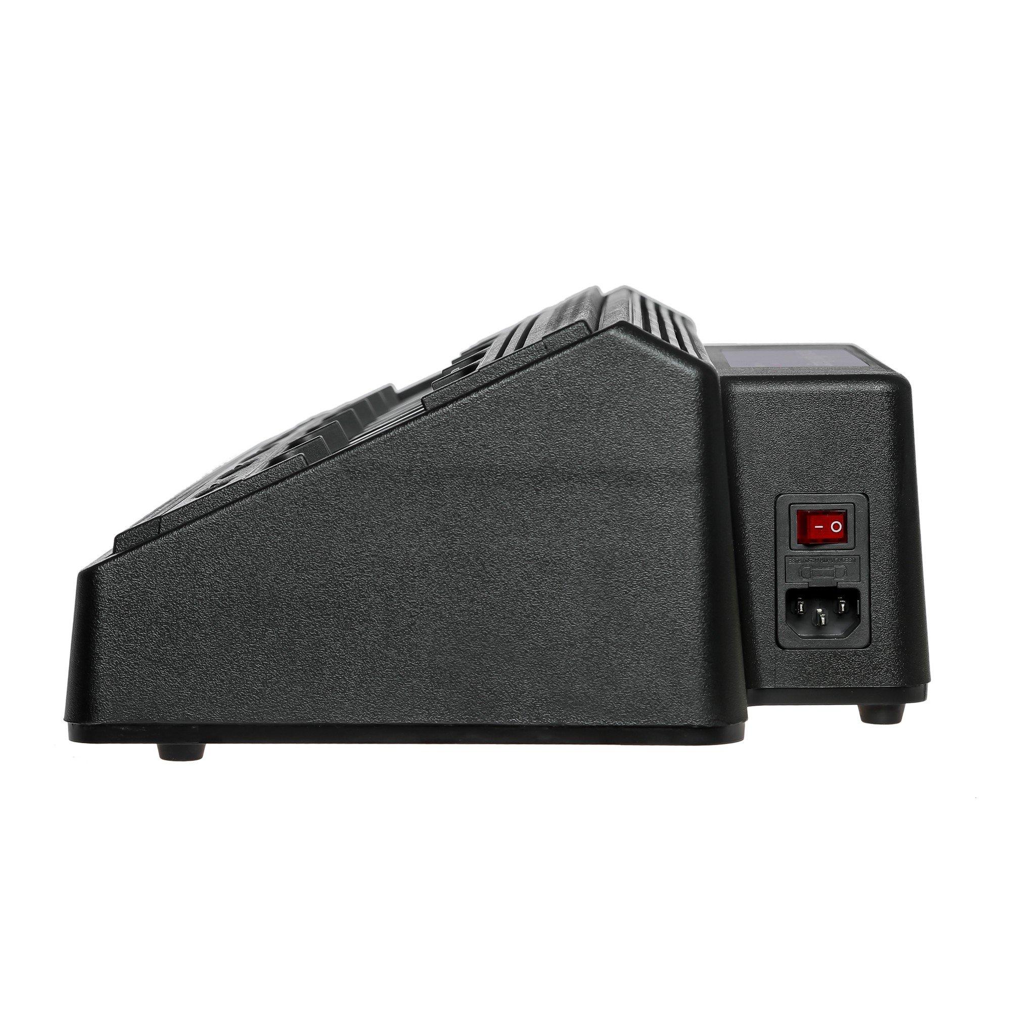 Maxtop AM6R4232-120-V3 Six Unit Bank Rapid Charger for Motorola DR3000 DP3400 DP3401 DP3600 DP3601 DGP4150 DGP4150+ by MAXTOP (Image #3)