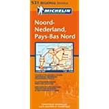 Carte RGIONAL Pays-Bas Nord / Noord-Nederland