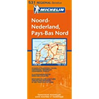 Carte RGIONAL Pays-Bas Nord/Noord-Nederland