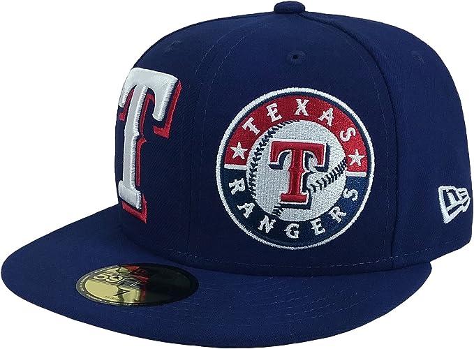 New Era Gorra de b/éisbol 9FORTY League Texas Rangers Azul