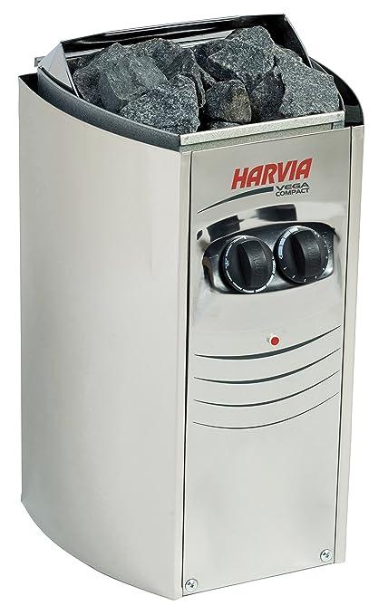 Estufa de sauna eléctrica Harvia Vega Compact BC23 2,3 kW para las saunas pequeñas
