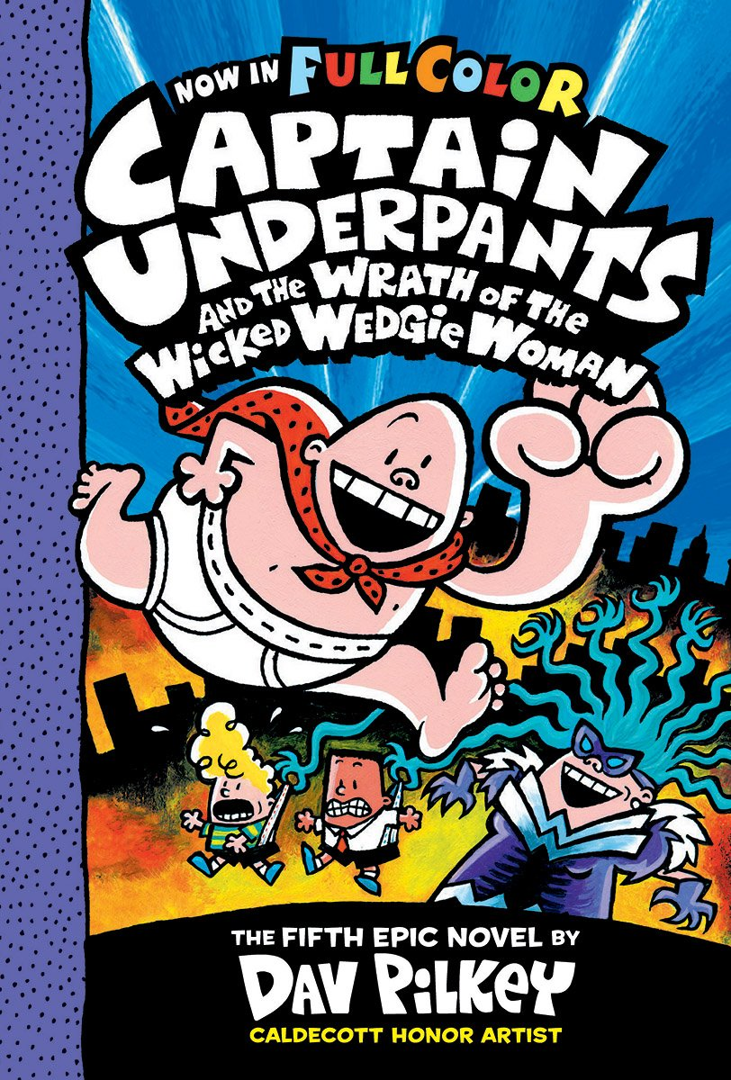 how many captain underpants books are there