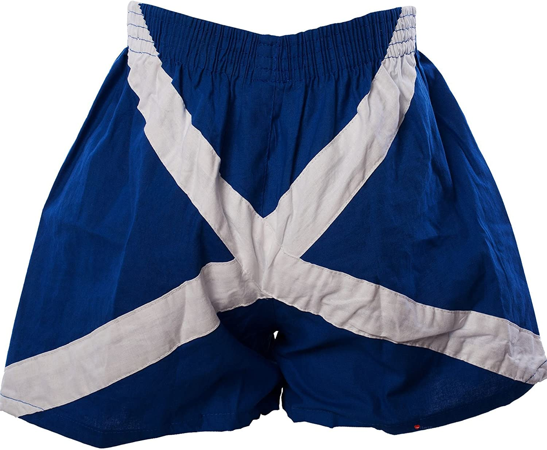 Gents Scottish Novelty Saltire Flag Boxers