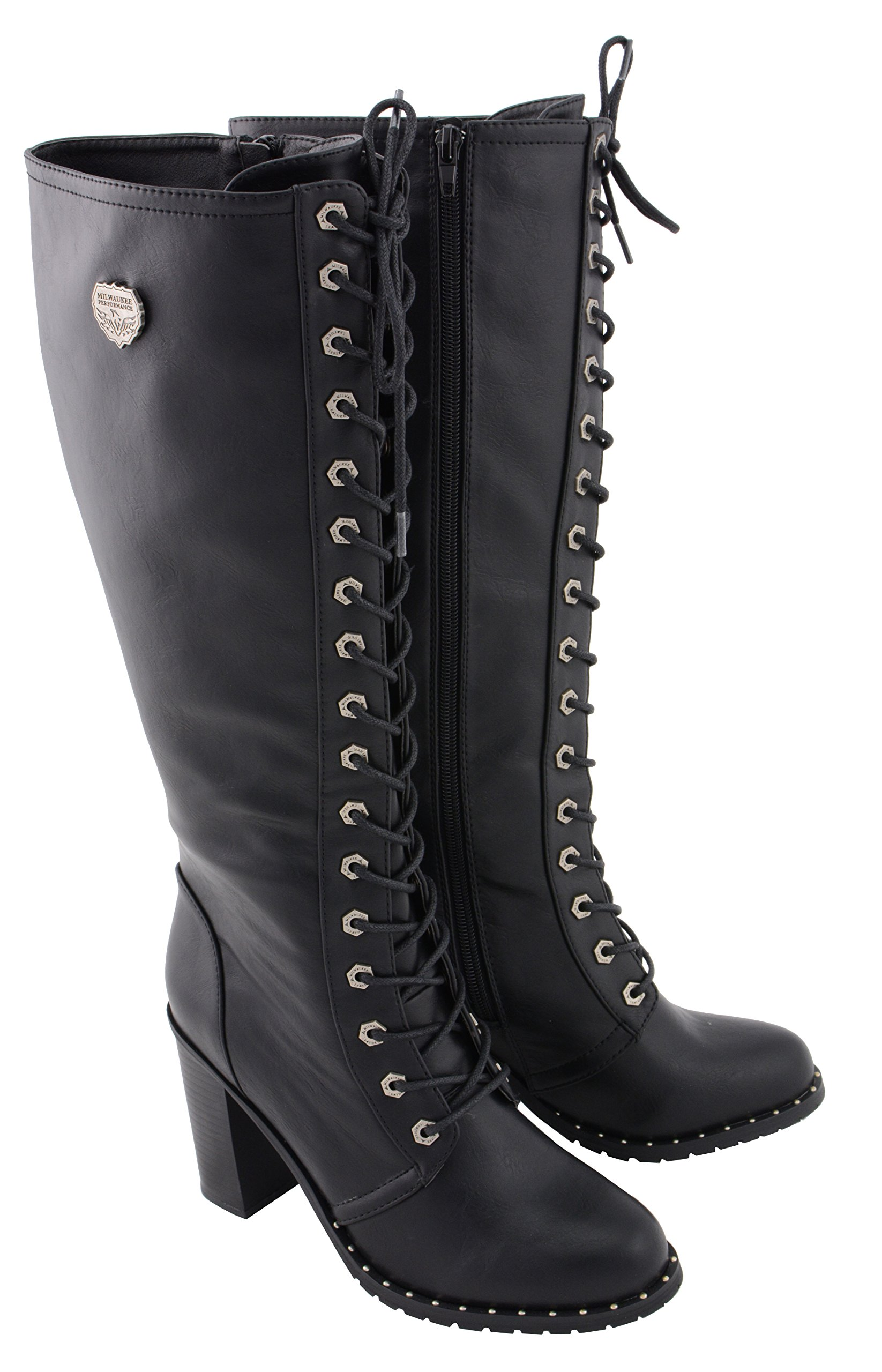 Milwaukee Performance Women's Lace to Toe Boot (Black, 10)