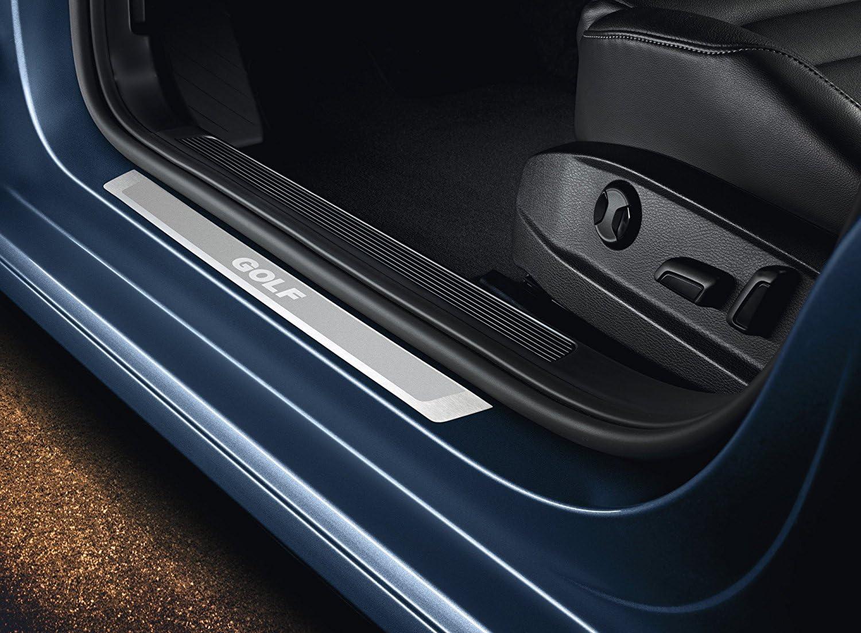 Volkswagen 5G0071303B Embellecedor de umbral Delantera Golf 7 Estate 5-Puertas de Acero Inoxidable