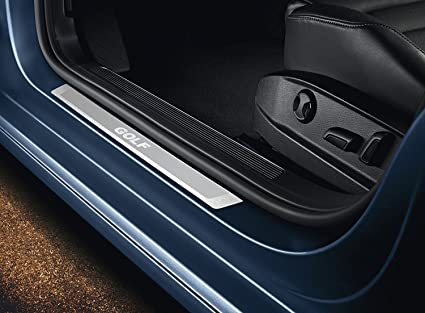Volkswagen Original Listones de umbral, Acero Inoxidable, Golf 7,VII Variant