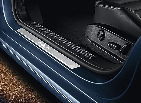 Volkswagen Original Listones de umbral, Acero Inoxidable, Golf 7, VII Variant de 4 puertas, puertas frontales: Amazon.es: Coche y moto
