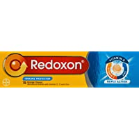 Redoxon Triple Action Effervescent Tab Orange, 15ct