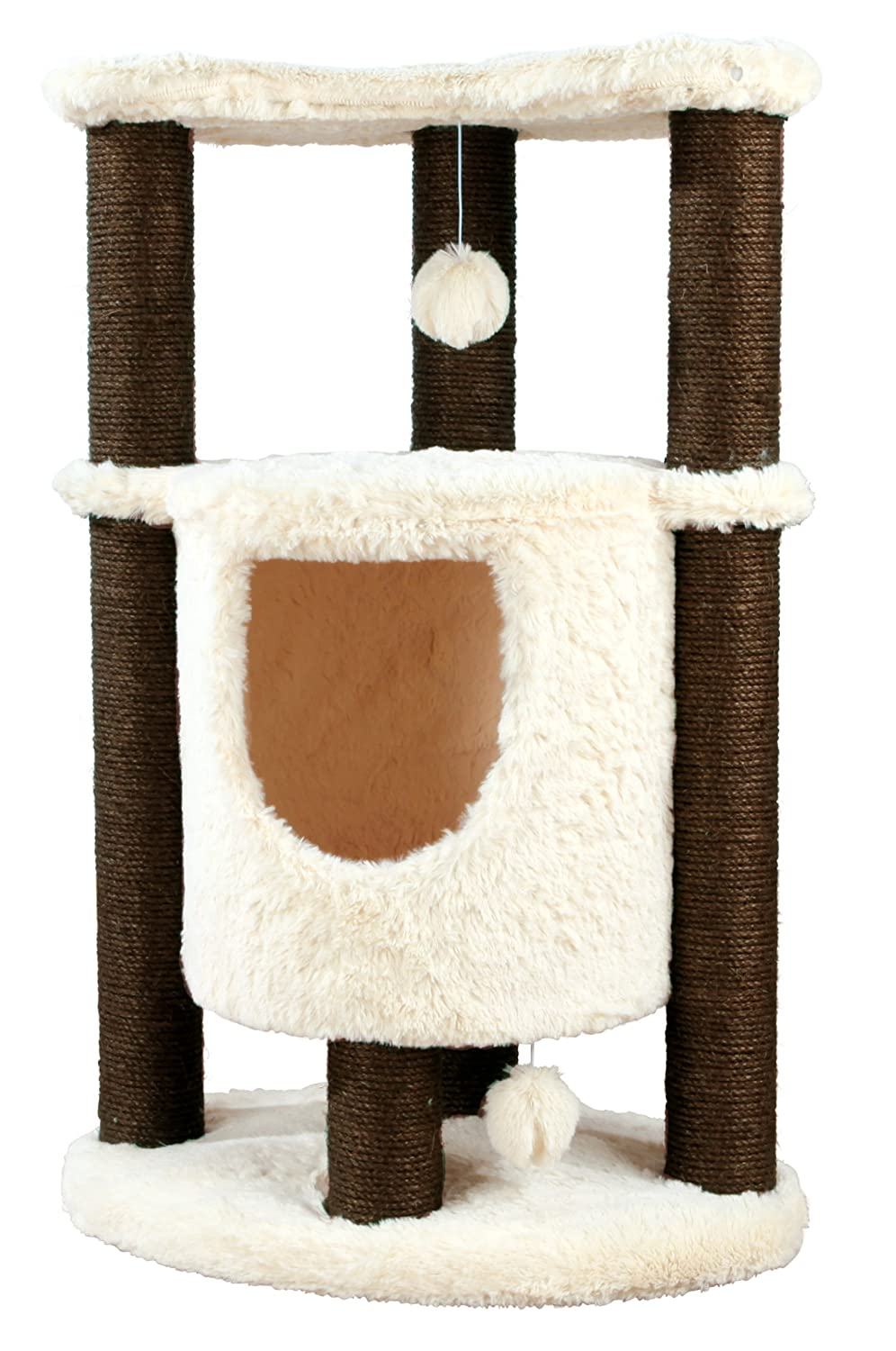 Trixie 44470 Pet Products Pepino Scratching Post, Chocolate Brown