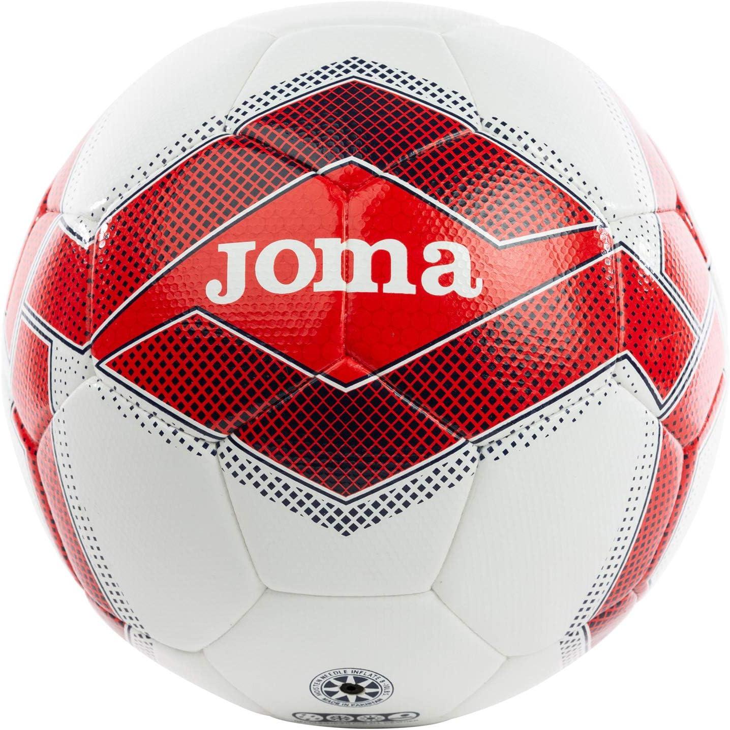Joma 400456 - Bolas de Platino (12 Unidades), Color Rojo y Blanco ...
