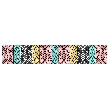 Kess InHouse Pom Graphic Design Dreamy Tribal Table Runner