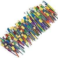Horizon Group USA Paint Brushes - Assorted Sizes, Set of 500, Assorted