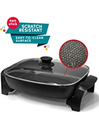 Amazon Com Electric Skillets Home Amp Kitchen