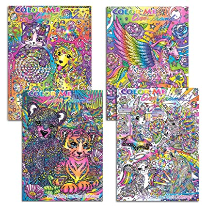 Buy Color Me Lisa Frank Adult Coloring Book SET OF 4 2016 ...