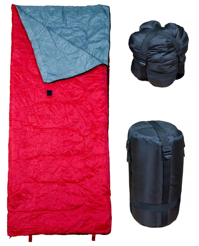 Rot Rucksackwandern /& Camping Jungen M/ädchen Ultraleichte und Kompakte Schlafs/äcke sind ideal zum Wandern REVALCAMP Schlafsack f/ür Drinnen /& Drau/ßen Jugendliche /& Erwachsene Toll f/ür Kinder