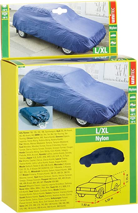 Unitec 75866 Ganzgarage Nylon Groߟ L Xl Auto
