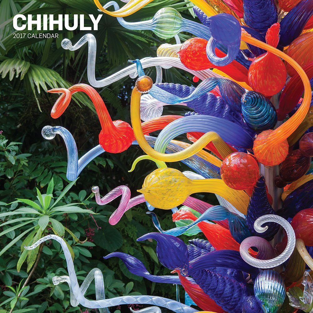 Amazoncom Chihuly 2017 Wall Calendar 9781419720949 Dale