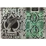 自転車蛇デッキトランプ - コブラスネークスキンバックのデザイン Bicycle Snake Deck Playing Cards - Cobra Snake Skin Back Design