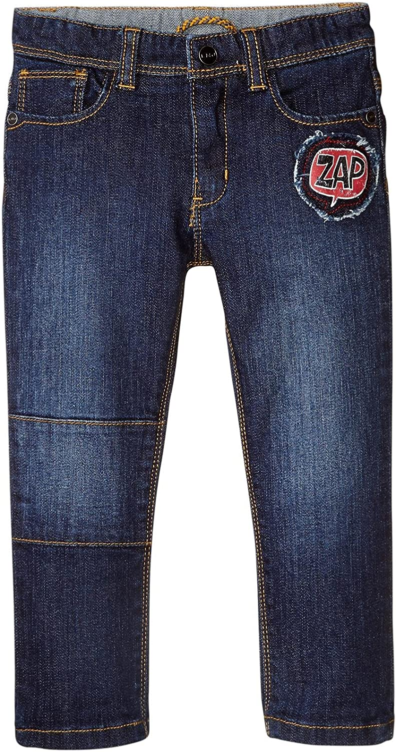 Little Marc Jacobs Baby Boys Denim Trousers with Fancy Patches