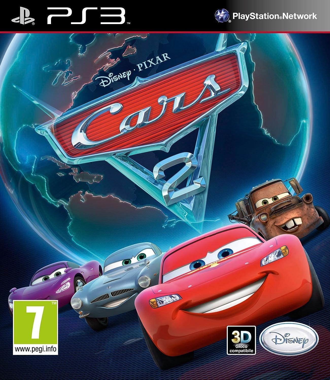Kết quả hình ảnh cho Cars 2 cover ps3