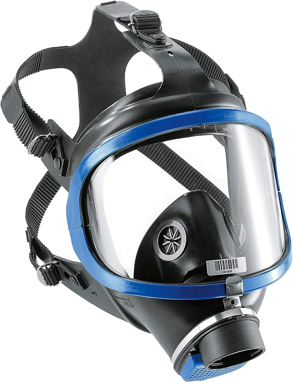 Dräger X-Plore 6300R55800 –Máscara completa con conector de rosca según DIN EN 148–1, 1pieza