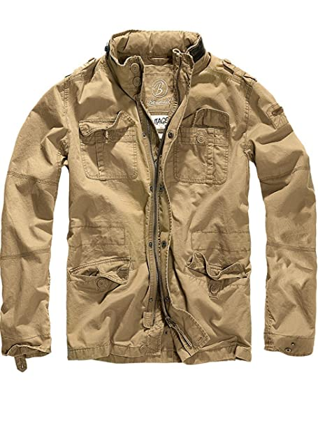 87f011b096e61 Brandit Britannia Jacket Olive: Amazon.ca: Clothing & Accessories
