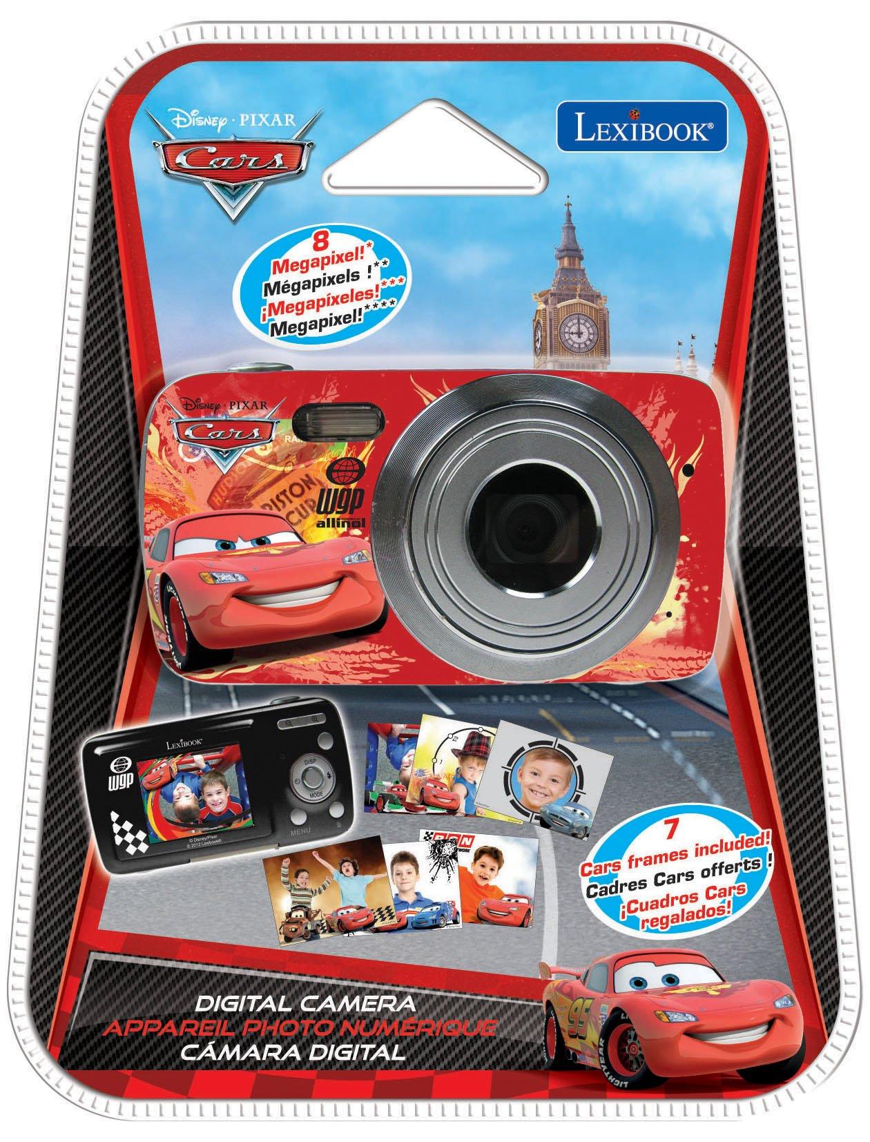 LEXiBOOK DJ029DC Disney Cars Digital Camera by LEXiBOOK (Image #3)