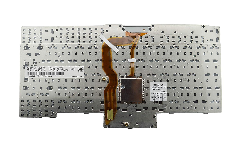 Janri Ersatz-Laptop-Tastatur mit Pointer f/ür Lenovo ThinkPad T400S T410 T410S T410I T410SI T420 T420I T420S T510 T510I T520 W510 W520 X220 X220I X220S X220T