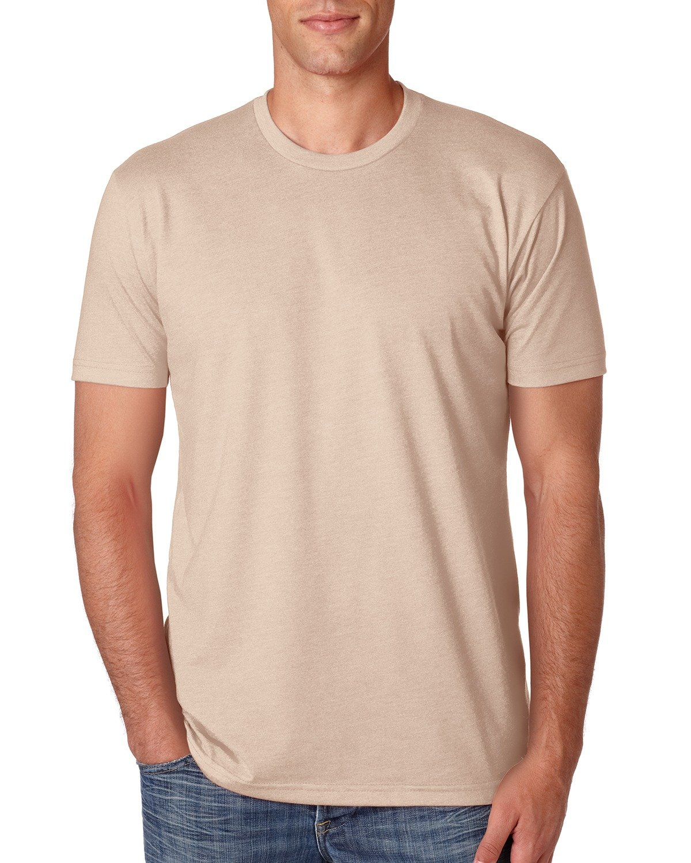 Next Level Apparel メンズ CVC クルーネック ジャージ Tシャツ B014WDCQ5M 3L|Heather Cream Heather Cream 3L