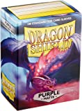 Dragon Shield 11009 Matte Purple Standard Sleeves (100 Sleeves)