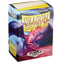 Dragon Shield 11009opaco viola maniche maniche Standard (100)