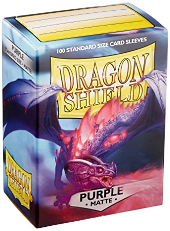 Dragon Shield Funda 11009 de la Marca Matte Purple. 100 Unidades.