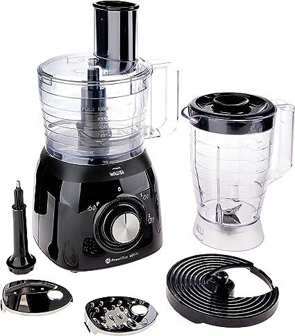Philips Walita Viva Collection RI7630/90 - Robot de cocina (1,3 L, Negro, Giratorio, 1,5 L, 1,12 m, Brasil): Amazon.es: Hogar