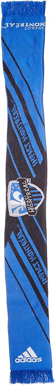 adidas MLS Unisex-Adult MLS SP17 Fan Wear Center Logo Scarf w//Fringe
