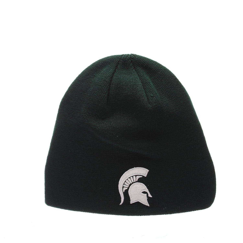 newest 8c7fe 122b0 Amazon.com   ZHATS Auburn Tigers Navy Edge Skull Cap - NCAA Cuffless Winter  Knit Beanie Toque Hat   Clothing