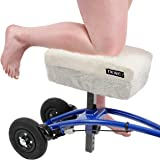 Knee Scooter Comfy Cushion by TKWC INC - Two Inch Thick Foam Knee Pad and Cover - Fits Most Knee Walker Models